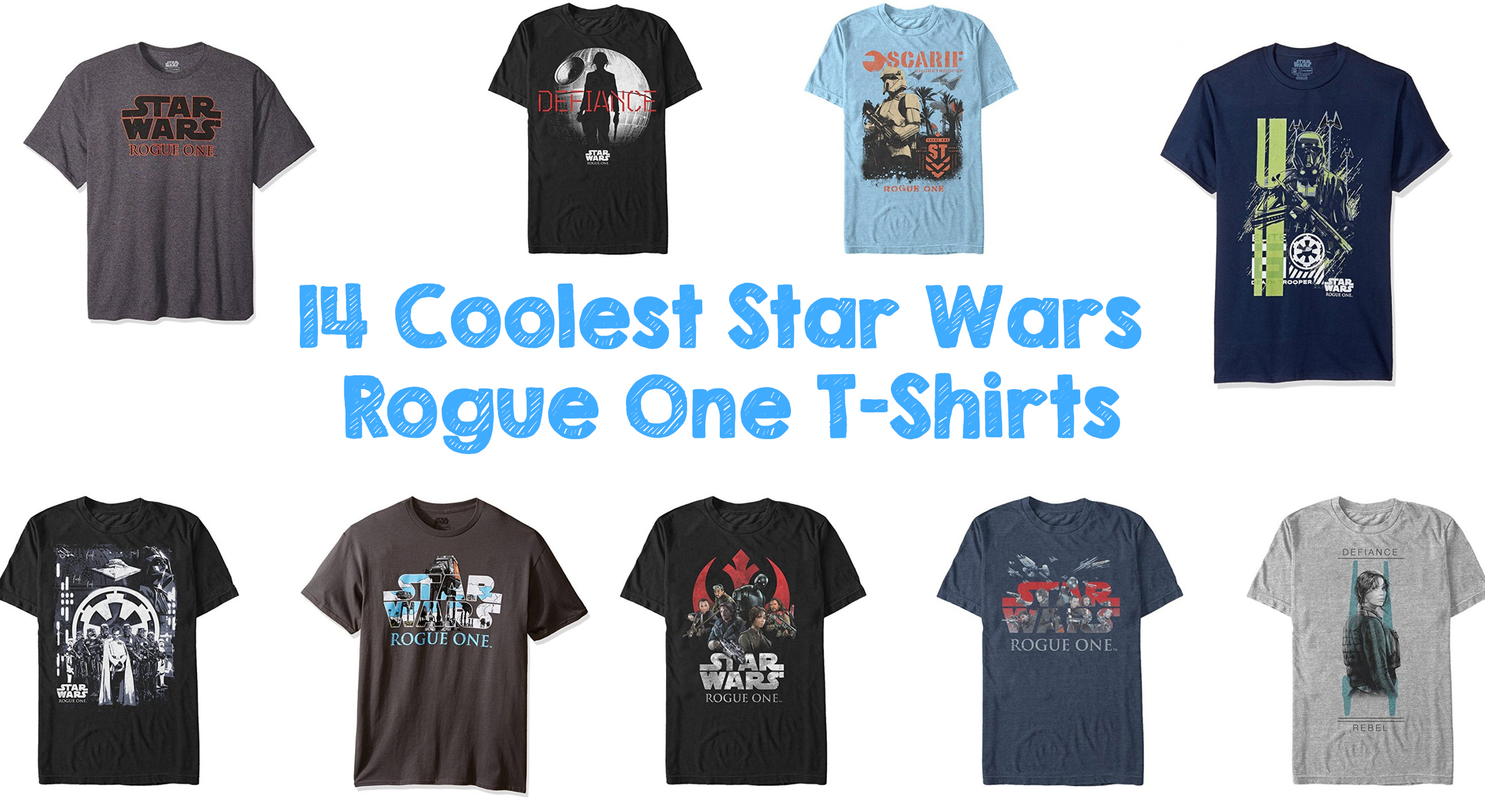 fe93f4ed45b4 14 Coolest Star Wars Rogue One T-Shirts - Walyou