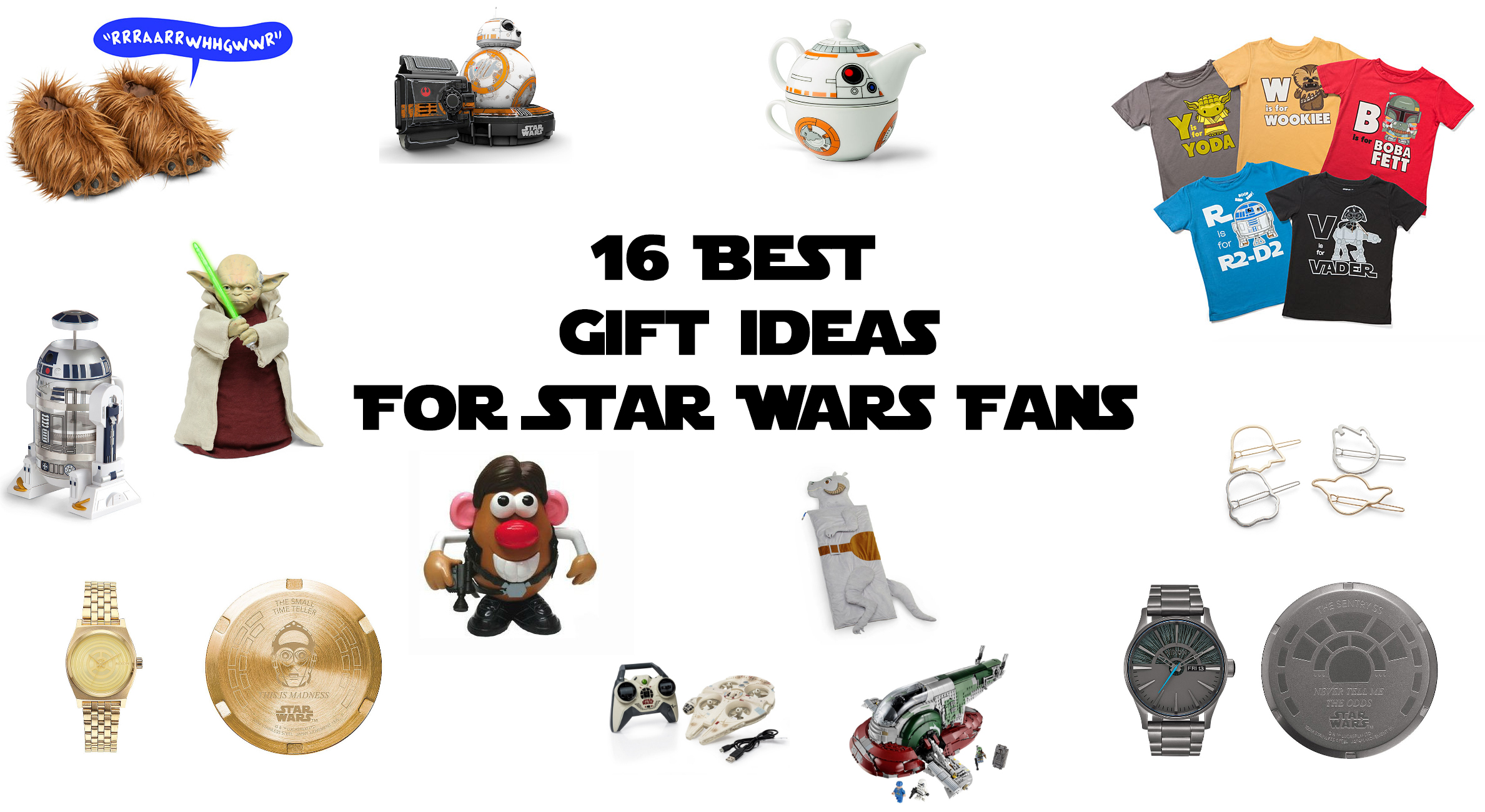 16 Best Gift Ideas For Star Wars Fans