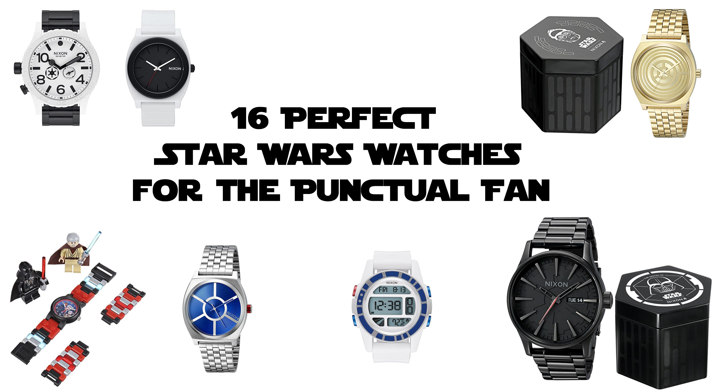 16 Perfect Star Wars Watches for the Punctual Fan