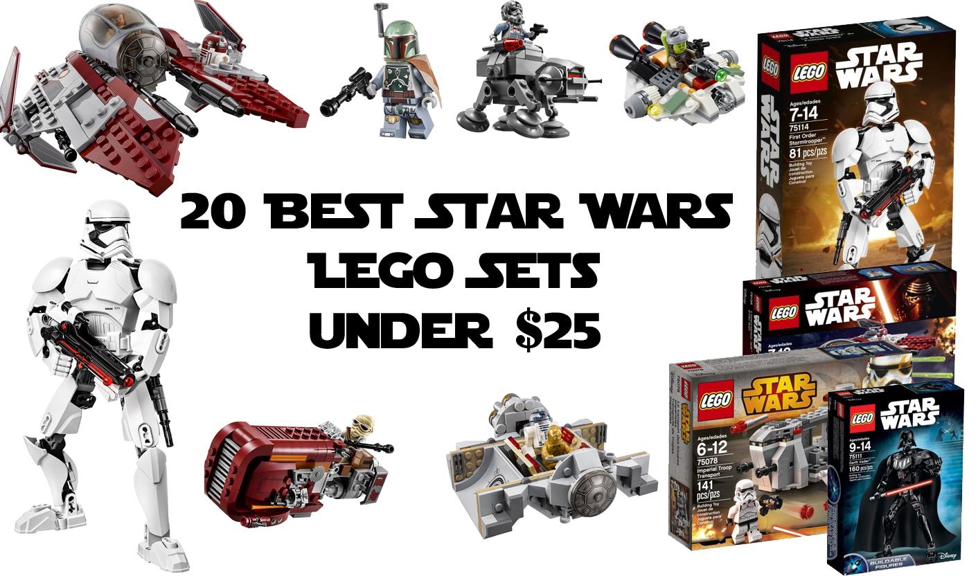 20 Best Star Wars LEGO Sets Under $25
