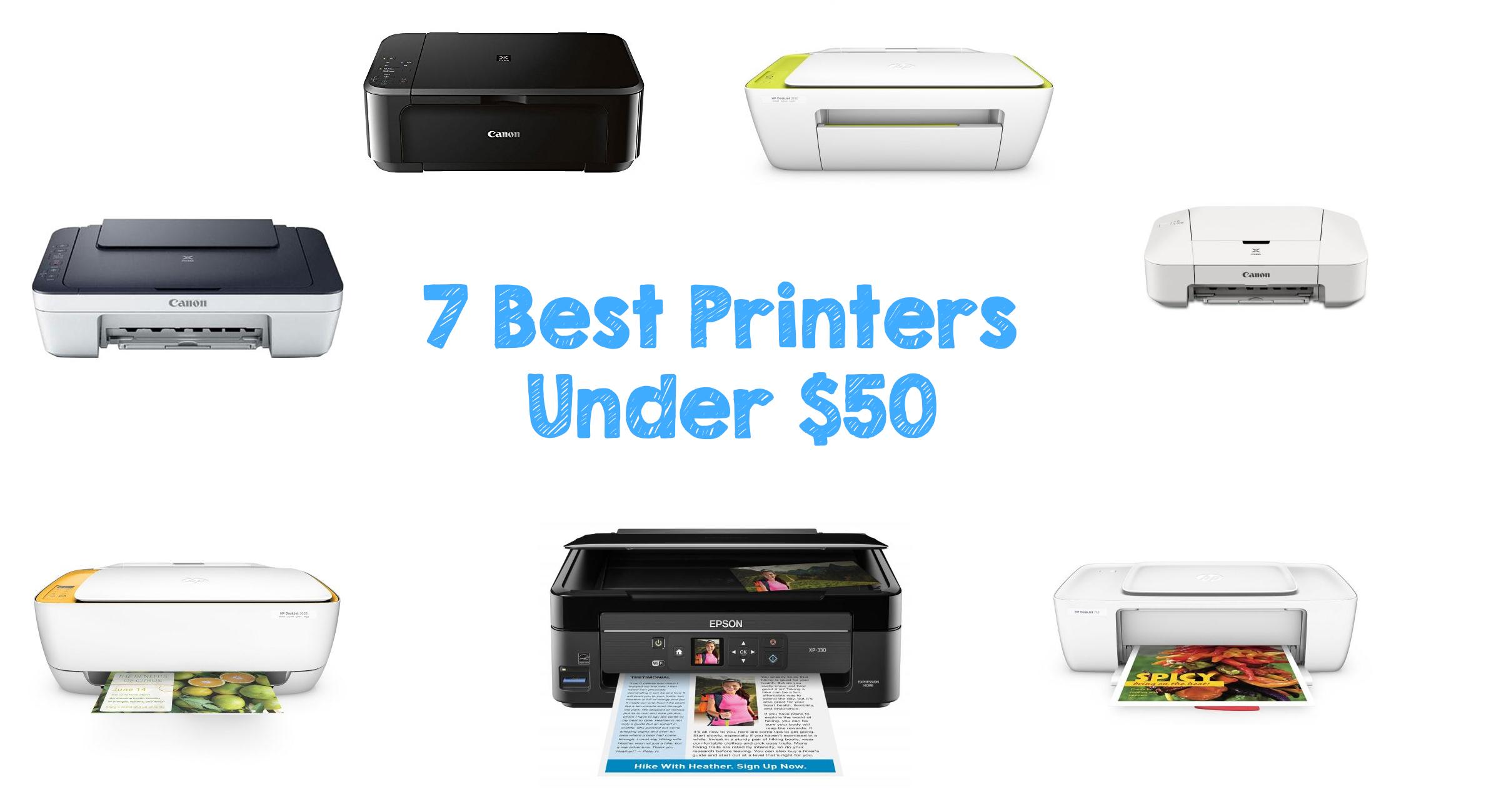 7 Best Printers Under $50 | Walyou