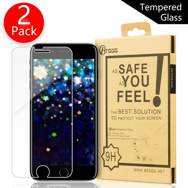 BTGGG iPhone 7 Glass Screen Protector