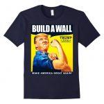 Build a Wall Donald Trump t-shirt