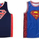 DC Comics Superman Basketball Jerseys