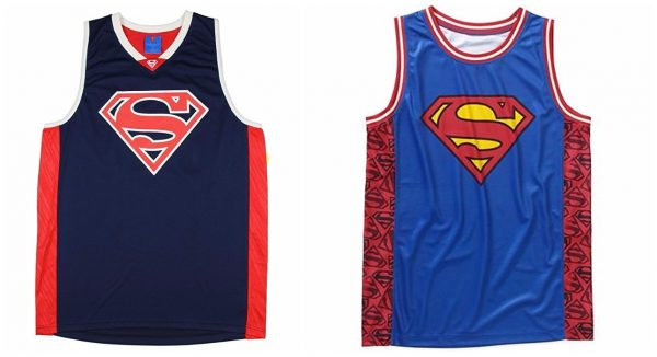 DC Comics Superman Basketball Jerseys