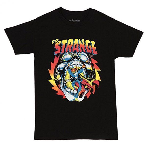 Doctor Strange Fiery Skull T-Shirt
