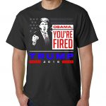 Donald Trump Obama You're Fired T-Shirt