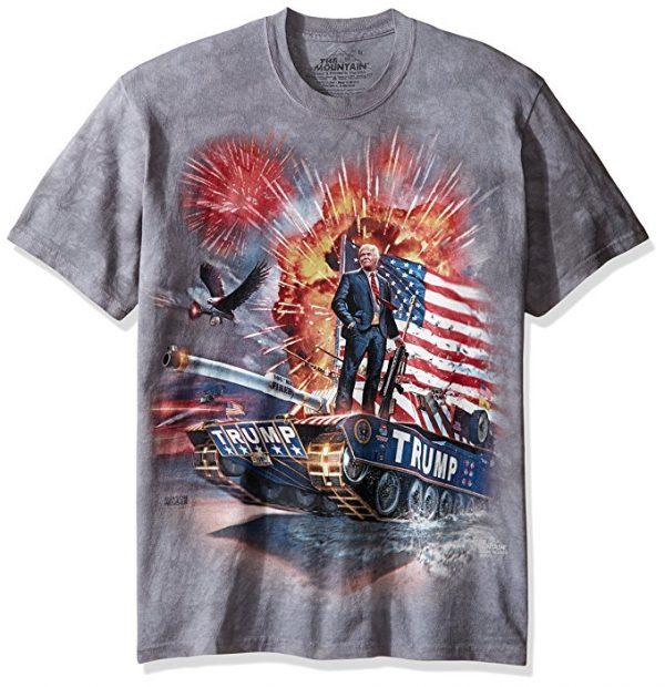 Donald Trump on a Tank T-Shirt
