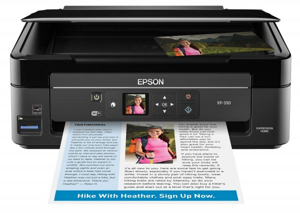 Epson Expression Home XP-330 Wireless Printer With Scanner & Copier