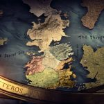 Game of Thrones TV Opening Map