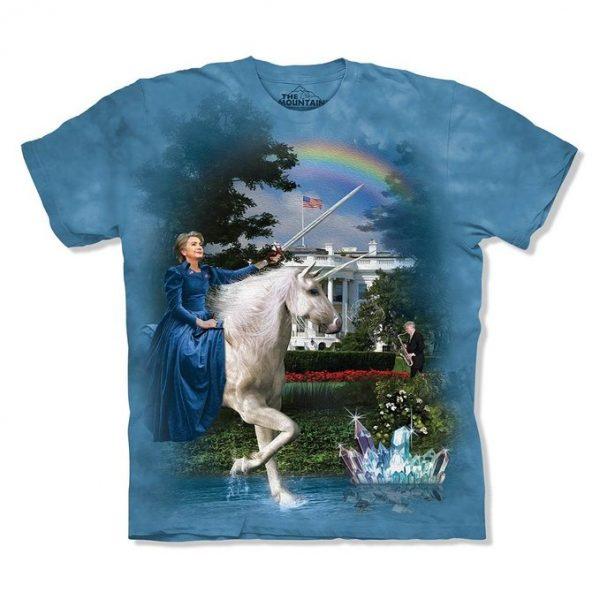 Hillary Clinton Unicorn White House T-Shirt
