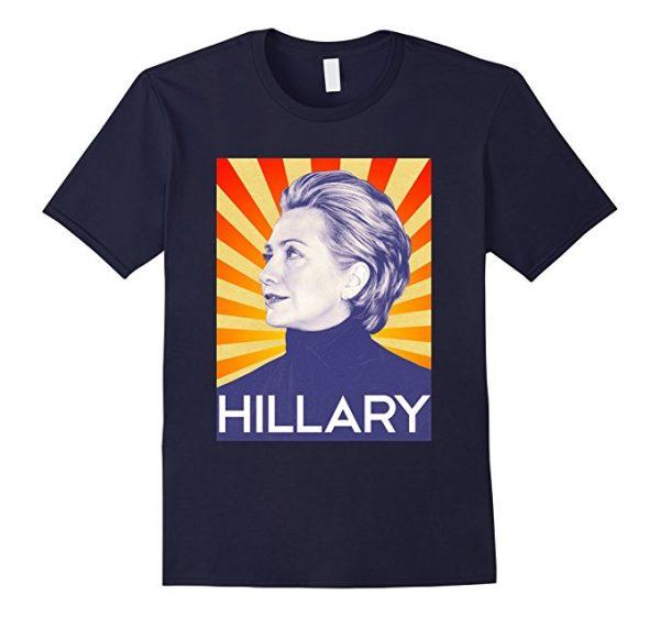 Hillary Face T-Shirt