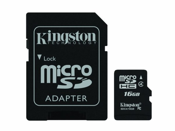 Kingston MicroSDHC Class 4 Memory Card