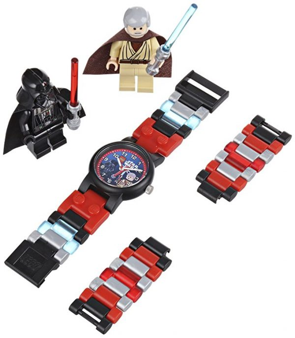 LEGO Kids Star Wars Vader vs Obi Wan Watch