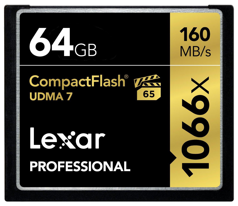 Lexar Professional CompactFlash Memory Card
