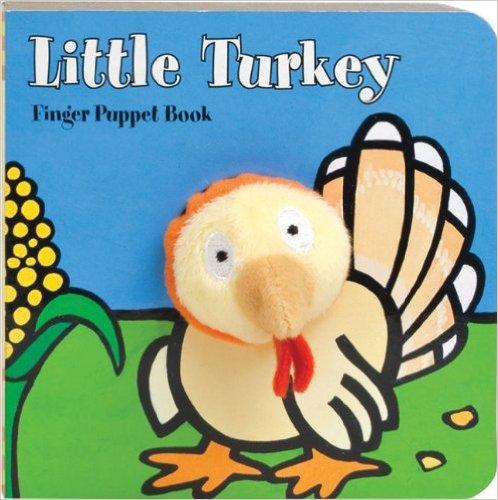 Little Turkey Finger Puppet Book for Thanksgiving