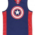Marvel Comics Captain America Basketball Jersey