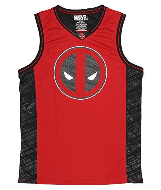 Marvel Comics Deadpool Basketball Jersey