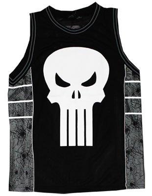 Marvel Comics Punisher Basketball Jersey