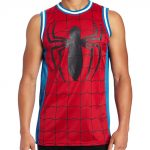 Marvel Comics Spiderman Basketball Jersey