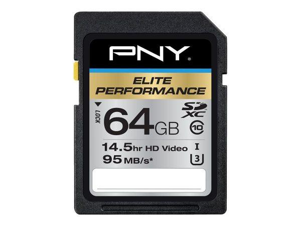 PNY Elite Performance Flash Memory Card