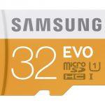 Samsung MicroSD EVO Memory Card