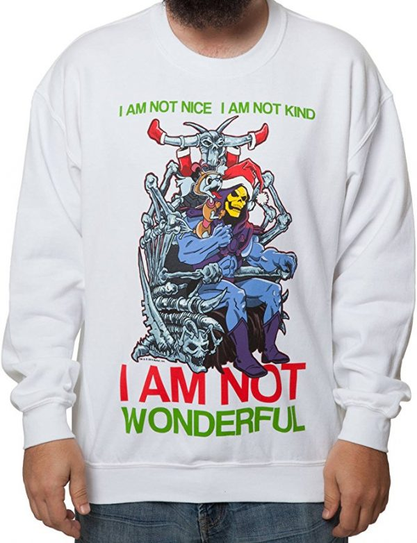 Skeletor Ugly Christmas Sweater