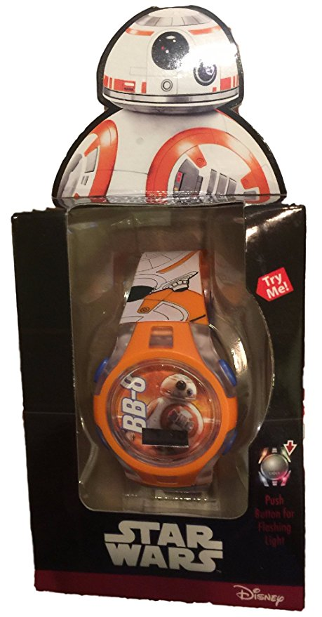 Star Wars BB-8 LCD Watch