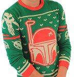 Star Wars Boba Fett Ugly Christmas Sweater
