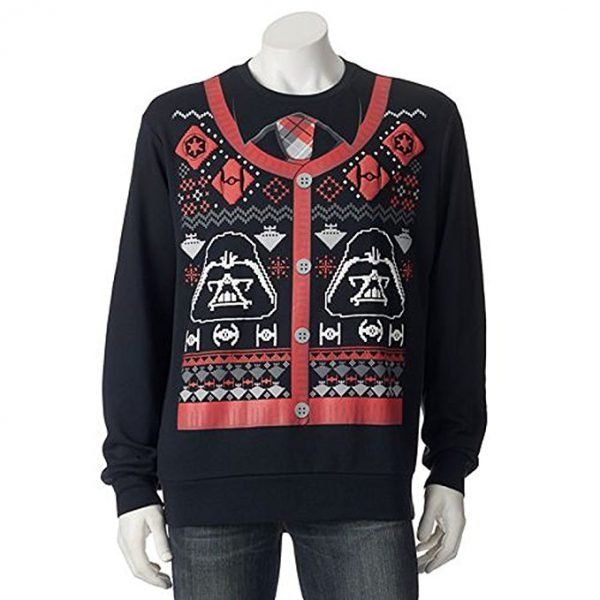 Star Wars Darth Vader Cardigan Ugly Christmas Sweater