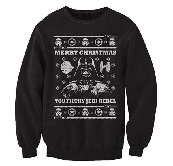 Star Wars Darth Vader Merry Christmas Ugly Christmas Sweater