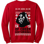 Star Wars Darth Vader Red Ugly Christmas Sweater