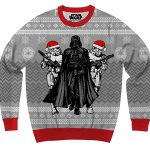 Star Wars Darth Vader & Stormtrooper Elves Ugly Christmas Sweater