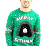 Star Wars Emperor Palpatine Ugly Christmas Sweater