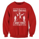 Star Wars Han Shot First Ugly Christmas Sweater