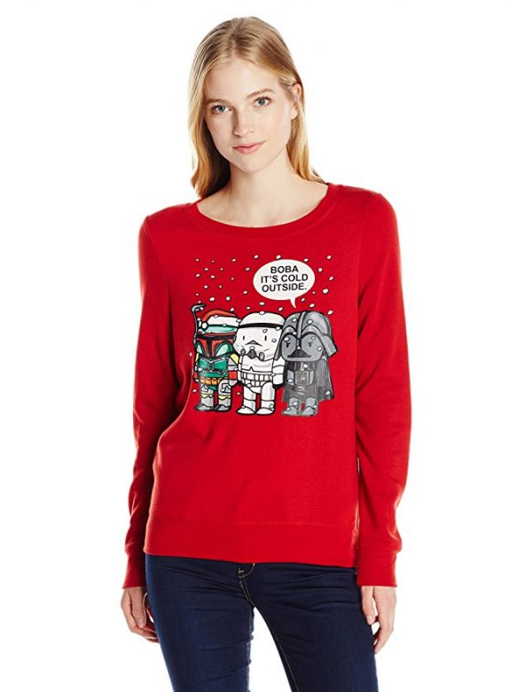 Star Wars It's Cold Outside Ugly Christmas Sweater
