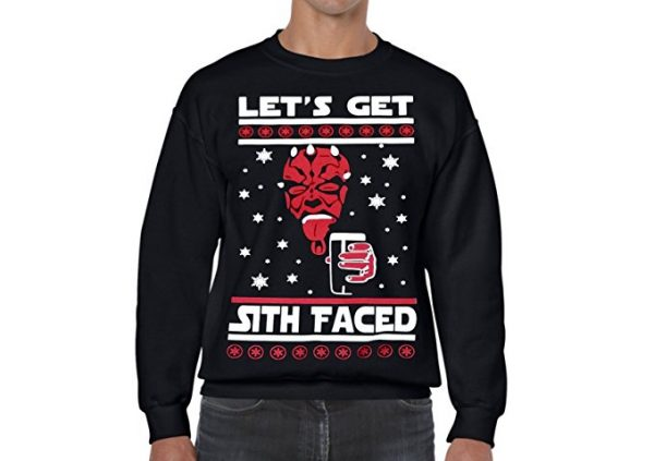 Star Wars Let's Get Sith Faced Ugly Christmas Sweater