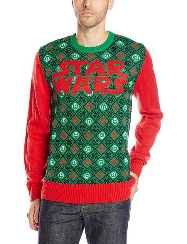 Star Wars Logo Ugly Christmas Sweater