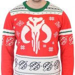 Star Wars Mandalorian Bounty Hunter Ugly Christmas Sweater