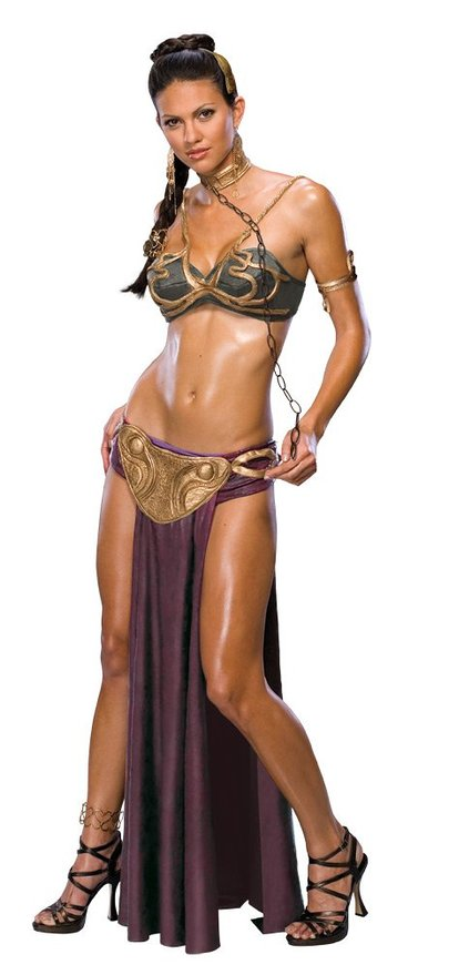 Star Wars Princess Leia Slave Halloween Costume