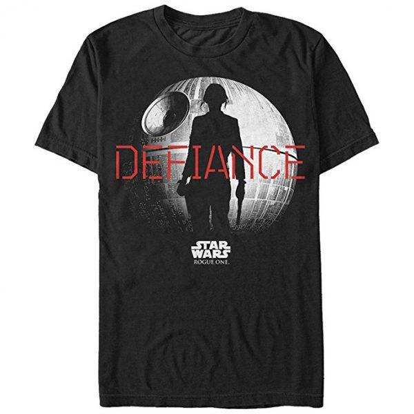 Star Wars Rogue One Jyn Death Star Defiance T-Shirt