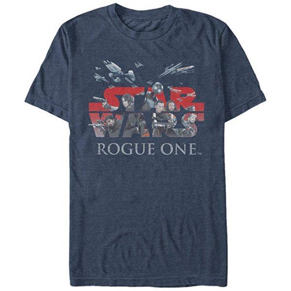 Star Wars Rogue One T-Shirt Men's Hero Logo