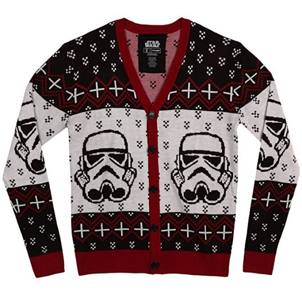 Star Wars Stormtrooper Cardigan ugly christmas sweater
