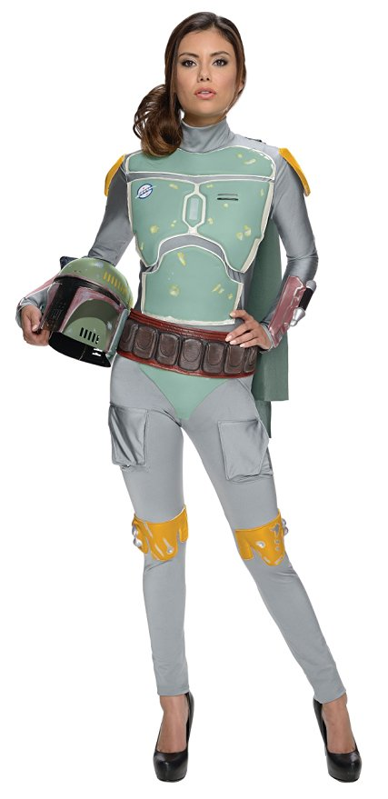Star Wars Women's Boba Fett Bounty Hunter Halloween Costume