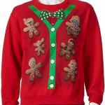 Star Wars cookies cardigan ugly christmas sweater