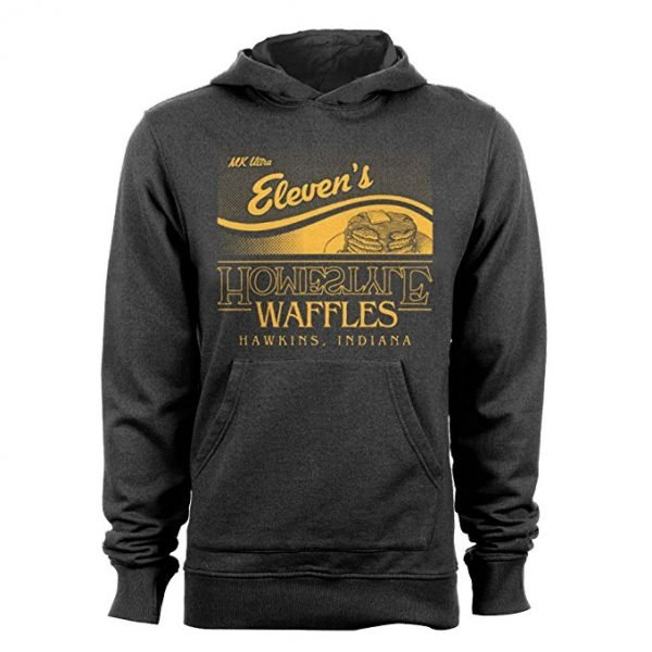 Stranger Things Eleven's Homestyle Waffles Hoodie