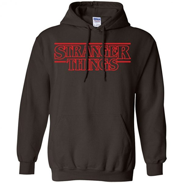 Stranger Things Title Design Hoodie