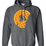 Stranger Things Waffle-Moon E.T. Style Hoodie