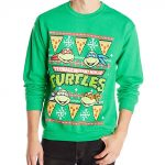 Teenage Mutant Ninja Turtles Ugly Christmas Sweater Green