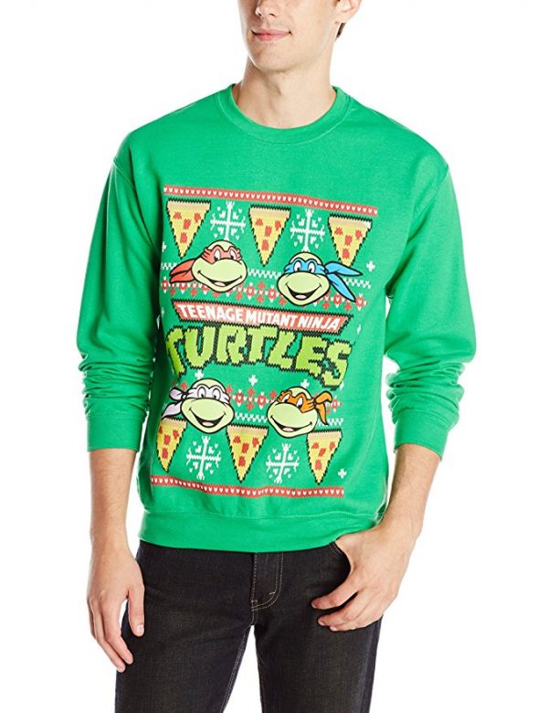 Teenage Mutant Ninja Turtles Ugly Christmas Sweater Green